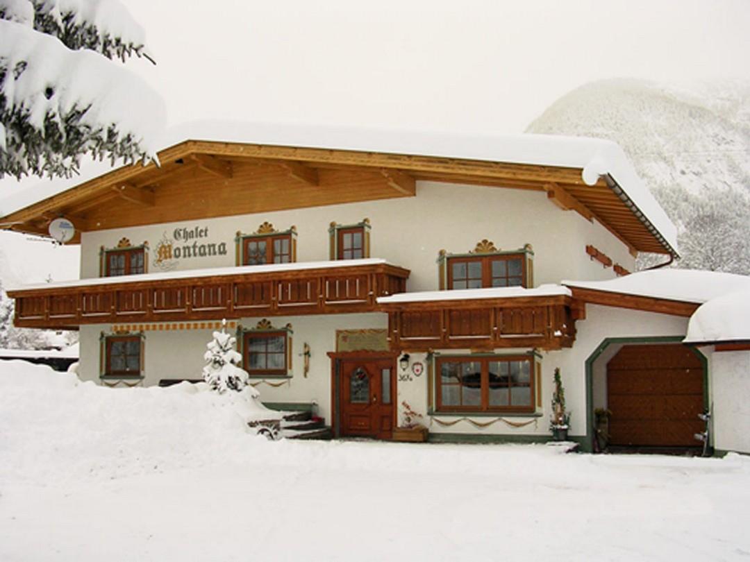 ferienwohnung chalet montana winter informationen leutasch seefeld tirol. Black Bedroom Furniture Sets. Home Design Ideas